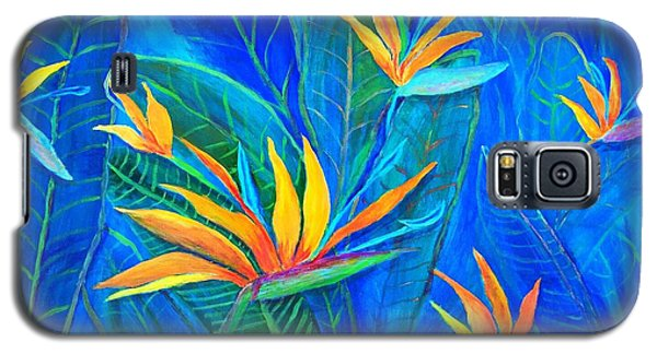 Birds Of Paradise In Florida Galaxy S5 Case