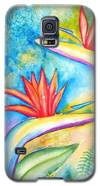 Birds Of Paradise Galaxy S5 Case by Carlin Blahnik