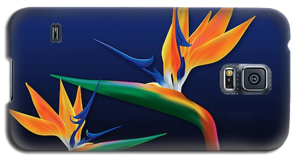 Birds Of Paradise Galaxy S5 Case
