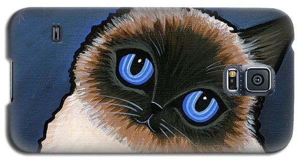 Birman Blue Night Galaxy S5 Case