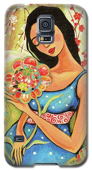 Birth Flower Galaxy S5 Case