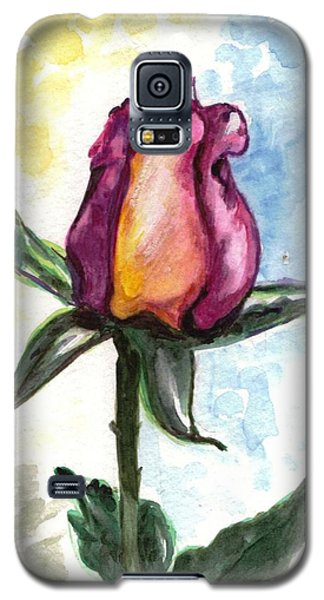 Galaxy S5 Case featuring the painting Birth Of A Life by Harsh Malik