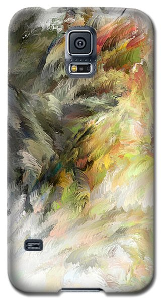 Galaxy S5 Case featuring the digital art Birth Of Feathers by Dale Stillman