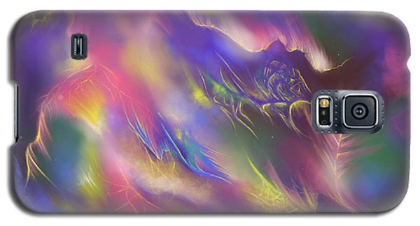 Galaxy S5 Case featuring the digital art Birth Of The Phoenix by Amyla Silverflame