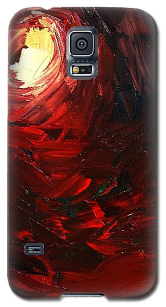 Galaxy S5 Case featuring the painting Birth by Sheila Mcdonald