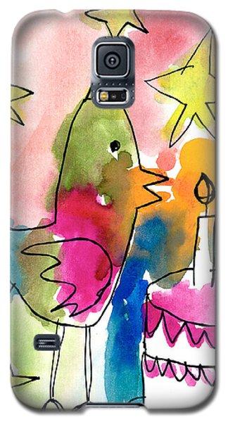 Birthday Bird Galaxy S5 Case