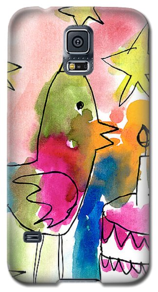 Birthday Bird Galaxy S5 Case