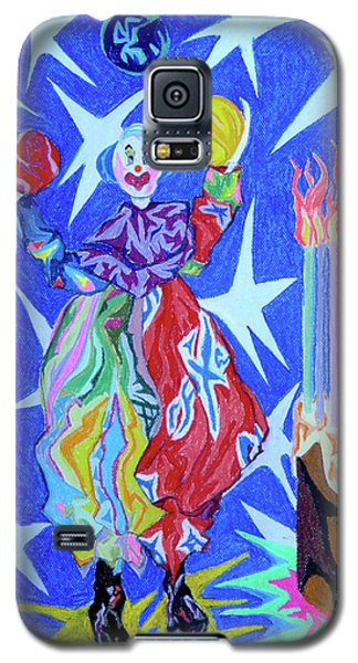 Birthday Clown Galaxy S5 Case