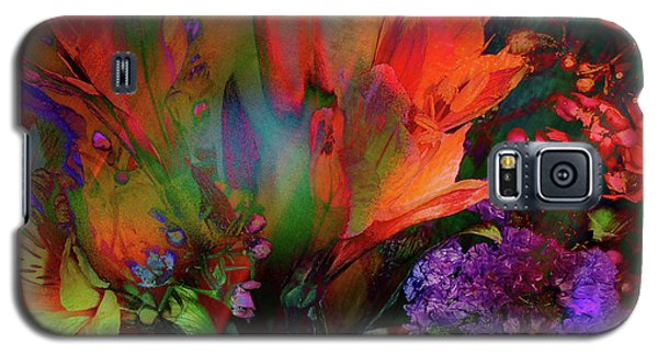 Birthday Flowers Galaxy S5 Case