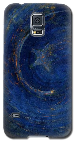 Birthed In Stars Galaxy S5 Case