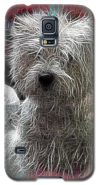 Galaxy S5 Case featuring the photograph Bishon Frise by EricaMaxine  Price