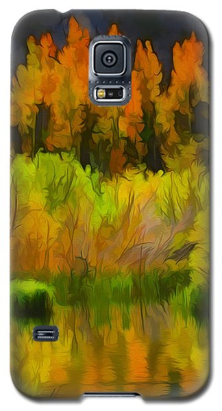 Bishop Creek Aspens Galaxy S5 Case