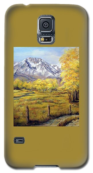 Bishop In The Fall Galaxy S5 Case