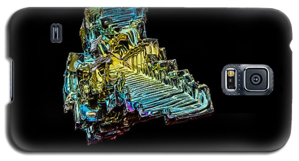 Galaxy S5 Case featuring the photograph Bismuth Crystal by Rikk Flohr