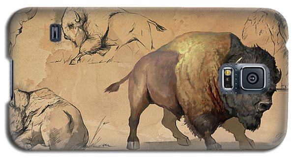 Bison Study Sheet Galaxy S5 Case