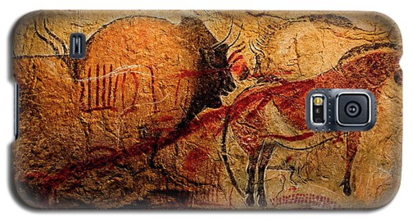 Bisons Horses And Other Animals Closer Galaxy S5 Case