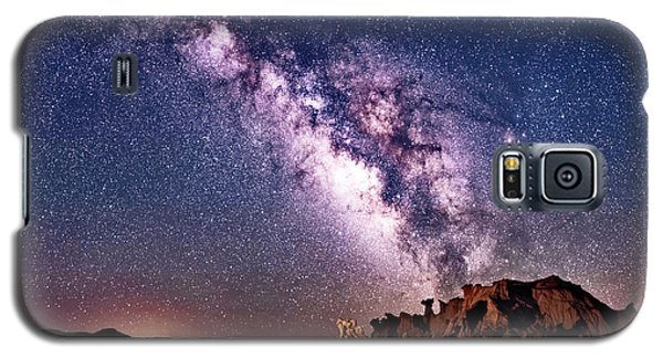 Bisti Badlands Night Sky Galaxy S5 Case
