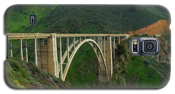 Bixby Bridge In Big Sur Galaxy S5 Case