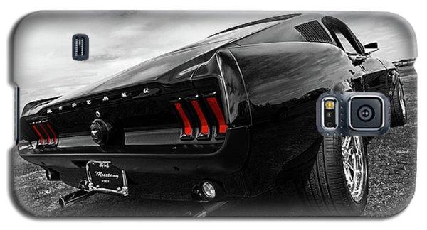 Black 1967 Mustang Galaxy S5 Case