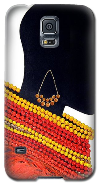Black And Red - Original Artwork Galaxy S5 Case