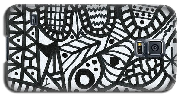 Black And White 1 Galaxy S5 Case