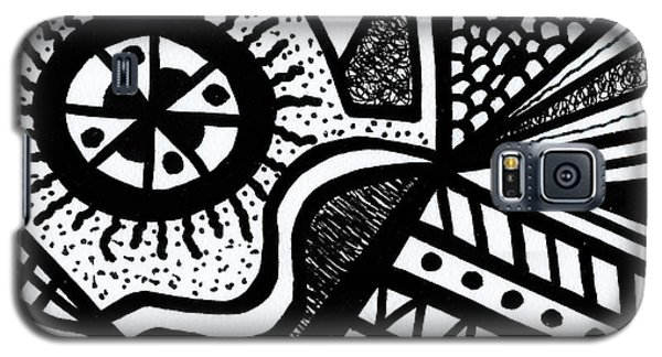 Black And White 14 Galaxy S5 Case