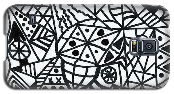 Black And White 2 Galaxy S5 Case
