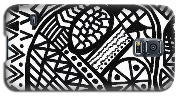 Black And White 5 Galaxy S5 Case