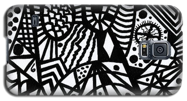 Black And White 6 Galaxy S5 Case