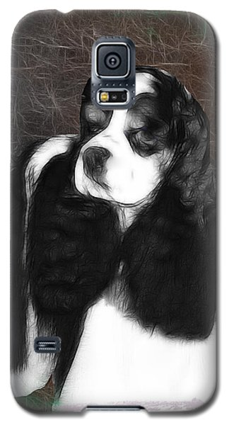 Galaxy S5 Case featuring the photograph Black And White Cookie by EricaMaxine  Price
