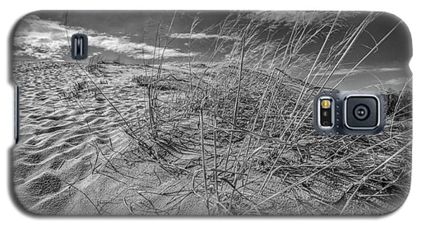 Galaxy S5 Case featuring the photograph Black And White Dunes by John McGraw
