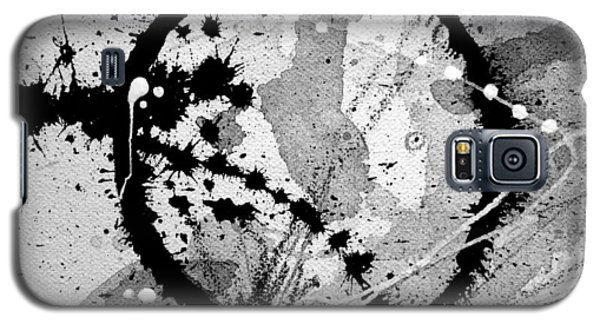 Black And White Five Galaxy S5 Case