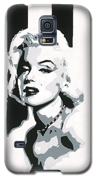 Black And White Marilyn Galaxy S5 Case