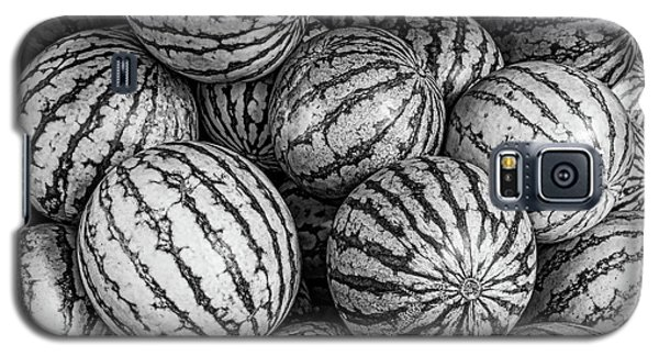 Black And White Mellons Galaxy S5 Case