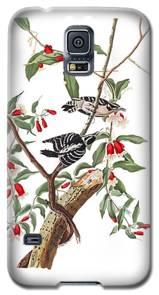 Galaxy S5 Case featuring the photograph Black And White by Munir Alawi