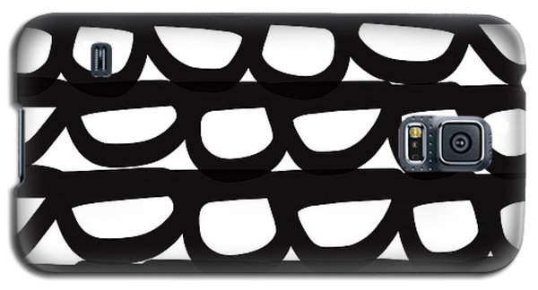 Black And White Pebbles- Art By Linda Woods Galaxy S5 Case