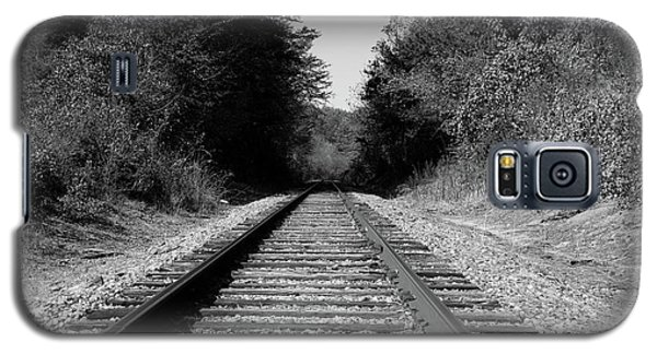 Black And White Railroad Galaxy S5 Case