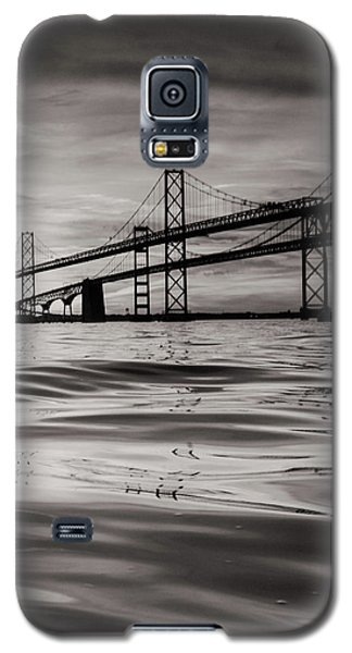 Galaxy S5 Case featuring the photograph Black And White Reflections 2 by Jennifer Casey