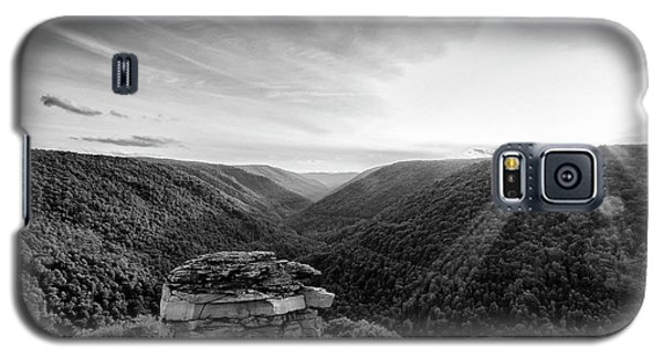 Black And White Sunset At Lindy Point Galaxy S5 Case