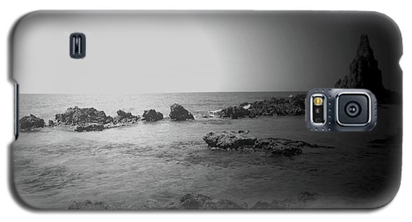 Black And White Sunset In Spain Galaxy S5 Case