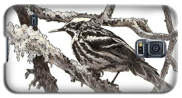 Black-and-white Warbler Galaxy S5 Case