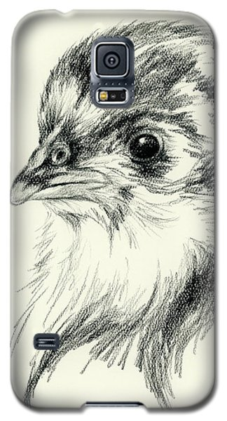 Black Australorp Chick In Charcoal Galaxy S5 Case