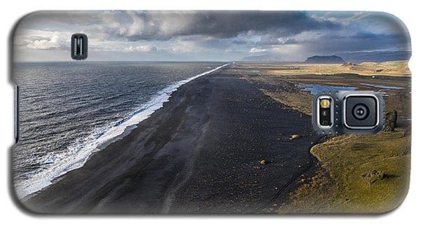 Black Beach Galaxy S5 Case