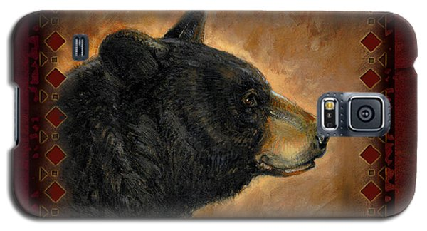 Wildlife Galaxy S5 Case - Black Bear Lodge by JQ Licensing