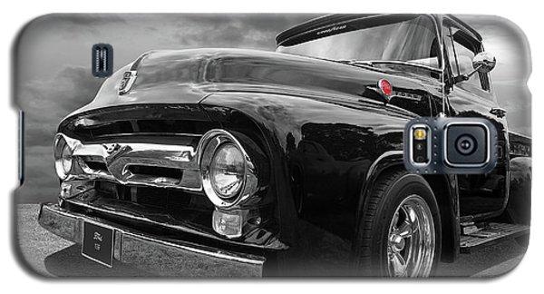 Black Beauty - 1956 Ford F100 Galaxy S5 Case