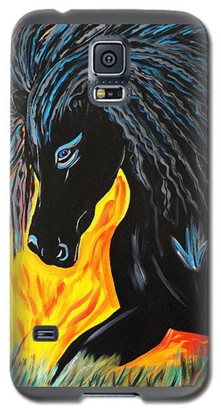 Black Beauty Galaxy S5 Case by Nora Shepley