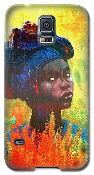 Black Beauty Galaxy S5 Case by Vannetta Ferguson