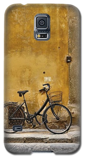 Black Bike Galaxy S5 Case by Patricia Strand