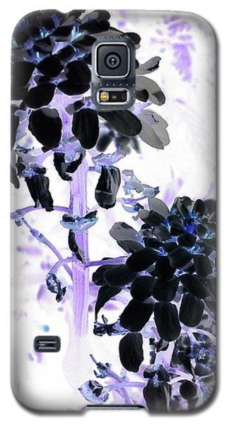 Galaxy S5 Case - Black Blooms I I by Orphelia Aristal