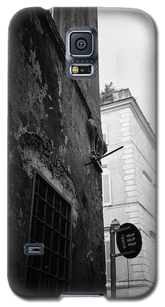 Black Building, White Building Galaxy S5 Case